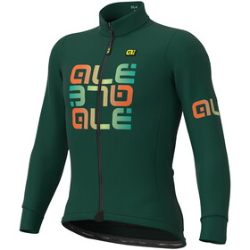Alé Cycling Solid Mirror Winter Jersey Heren, green